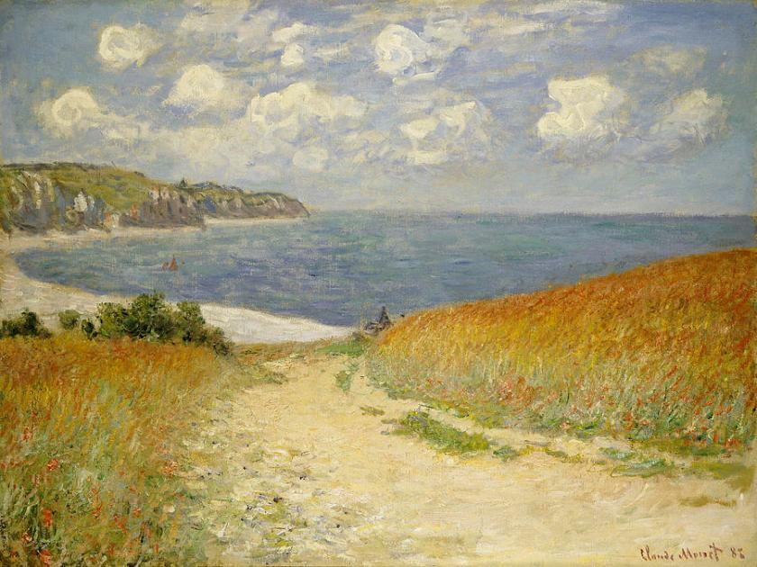 path-in-the-wheat-at-pourville-claude-monet